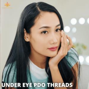 under eye PDO threads
