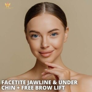 Facetite Jawline and Under Chin with FREE Ultherapy Brow Lift